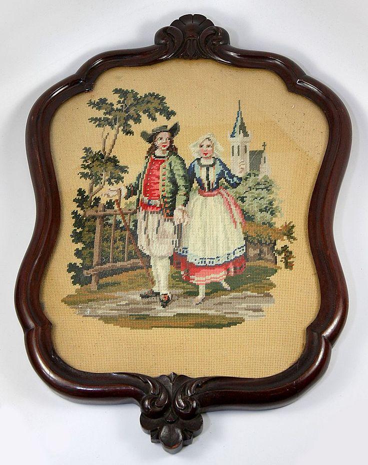 http://www.rubylane.com/item/135488-311nedlpoint/Antique-Breton-French-Costumes-Walnut