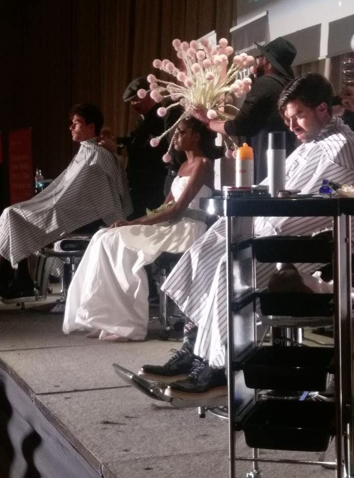 #bridallook #Barbers #Shows #myextensiongr