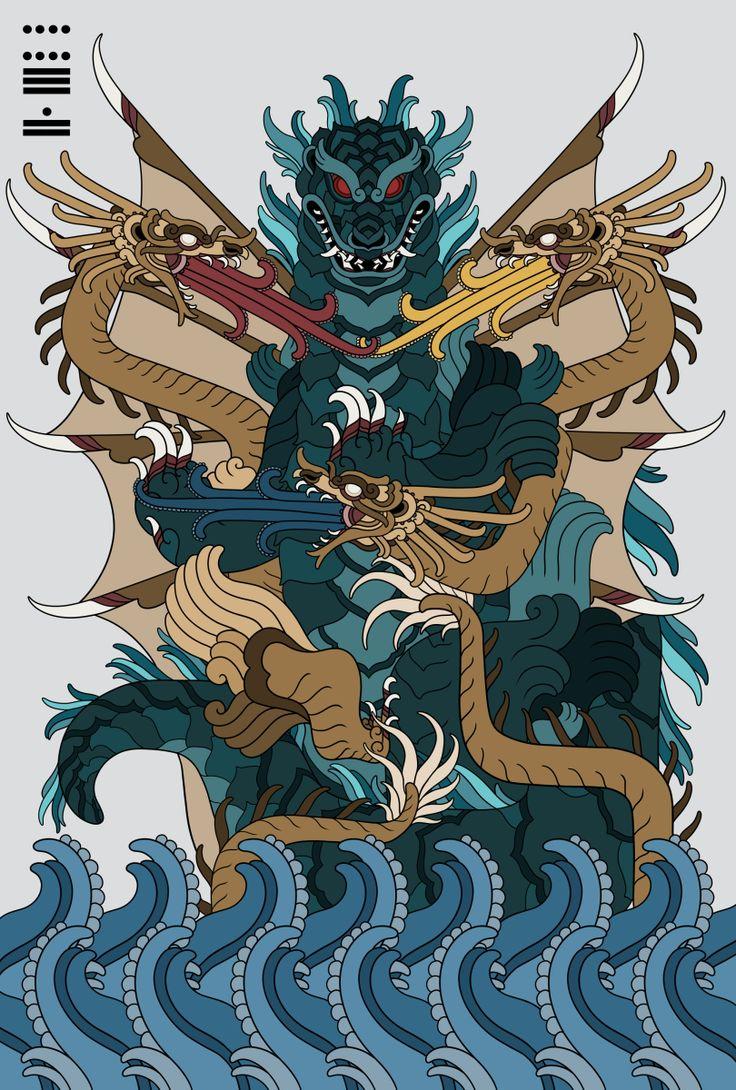 All These Stuff (monarobot:    Godzilla vs King Ghidorah poster...)