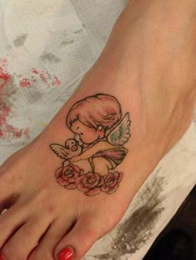 Little Angel Wings Pictures to Pin on Pinterest - TattoosKid