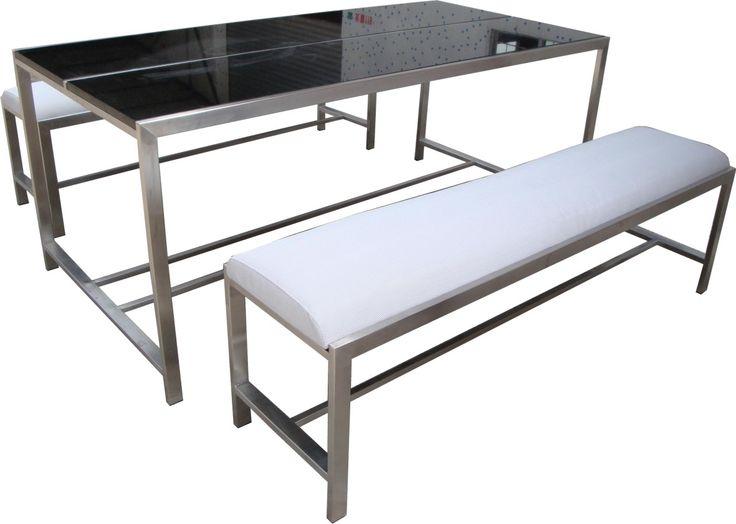 Steel Frame Kitchen Chairs
