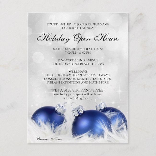 Business Christmas Open House Invitations Affiliate Open House Invitatio Holiday Party Flyer Holiday Party Invitation Template Christmas Dinner Invitation