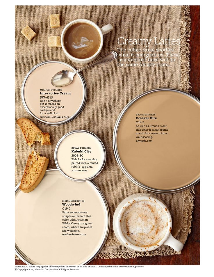 Mocha Latte And Paint Colors On Pinterest