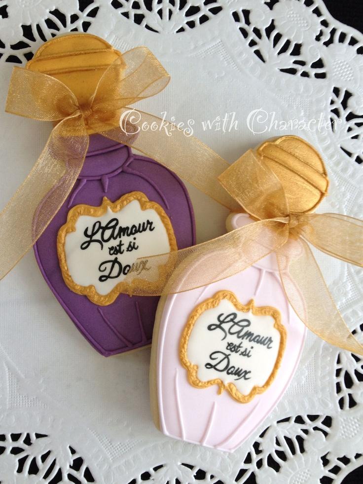 ♔Perfume Bottles Cookies♥