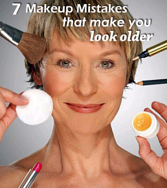 how to make yourself look older