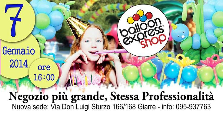 Nuova apertura Balloon Express Shop express shop Giarre.... New opening, new shop same professionalism