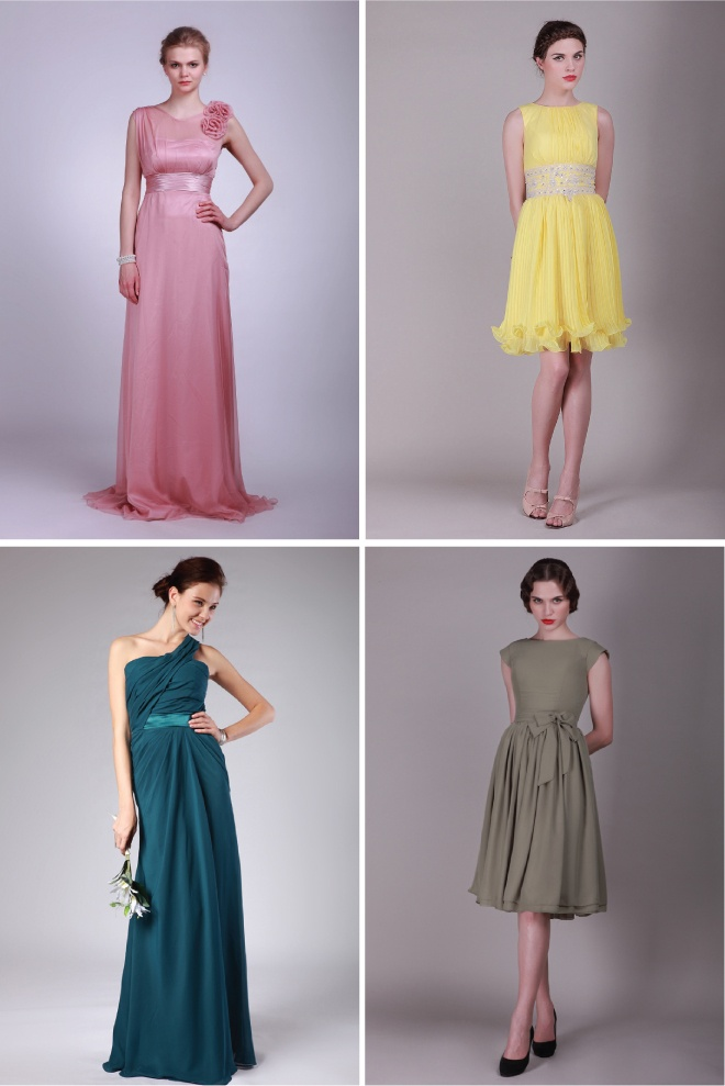 Bridesmaid Dresses by For Her and For Him - Belle the Magazine . The Wedding Blog For The Sophisticated Bride