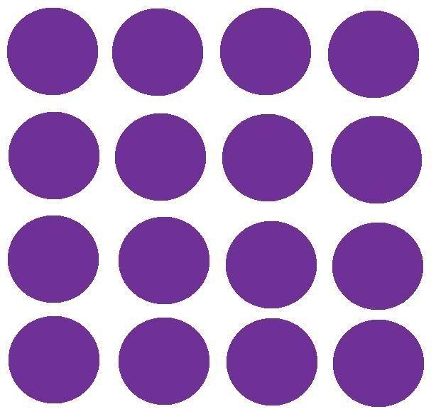 purple polka dots | Polka Dots Against White Background ...