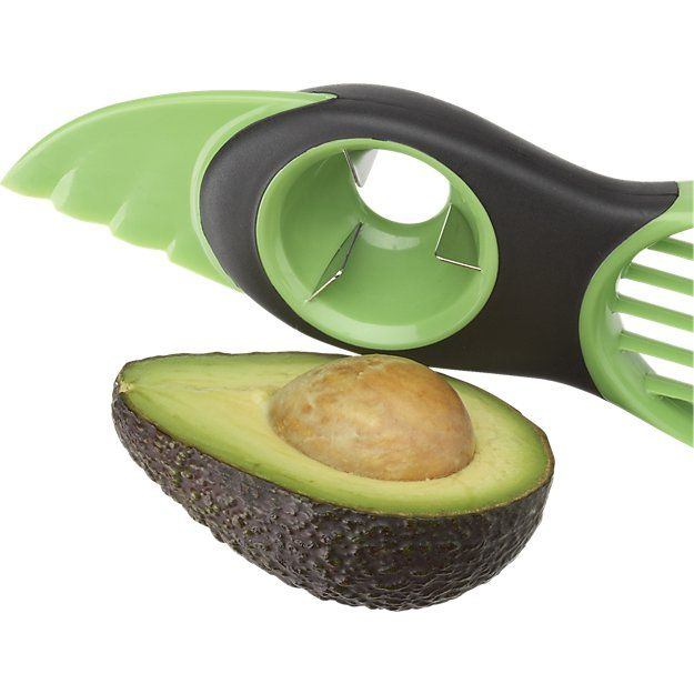 OXO ® 3 In 1 Avocado Tool | Crate and Barrel
