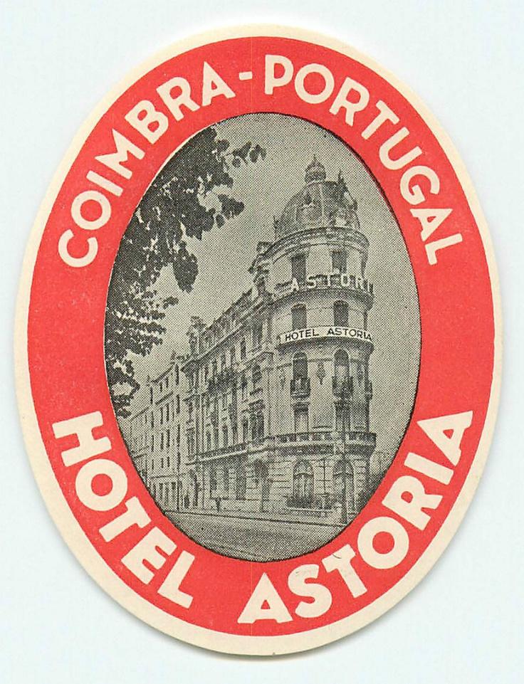 Coimbra Astoria hotel, like time stood still. 1920 style original. Beautifull!! -jolanda