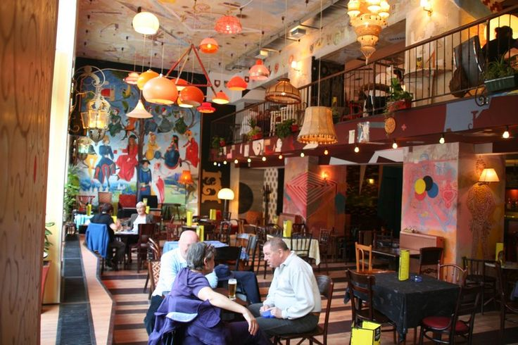 ruin pubs - only in Budapest. These places are so cool and honest, and bohemian and fabulous.