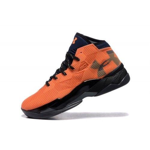 Veste Under Armour Curry 2.5 Orange Noir Pas Cher Nouveau Homme Chaussure De Basket France
