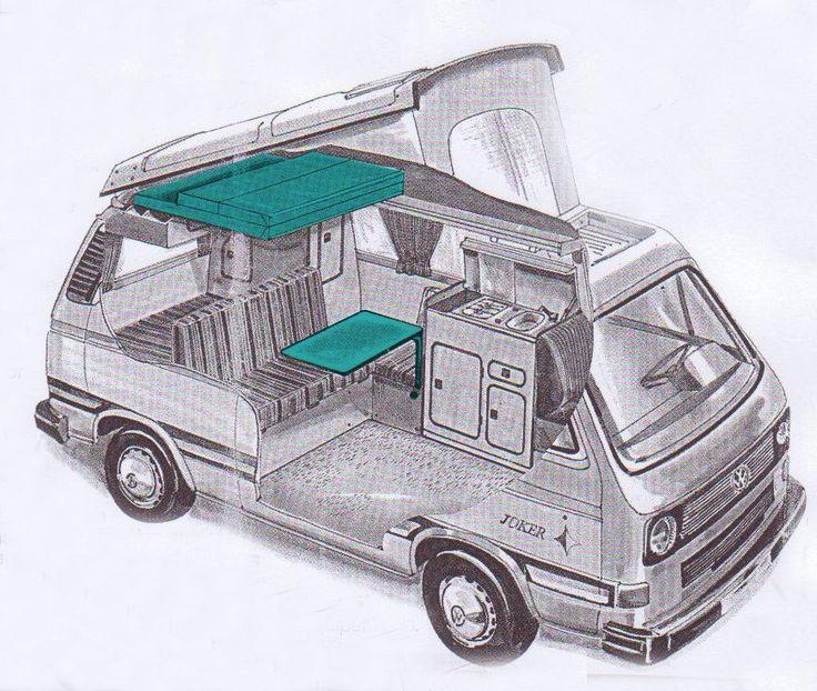 Westfalia Vw T3   – Fahrzeuge und Maschinen