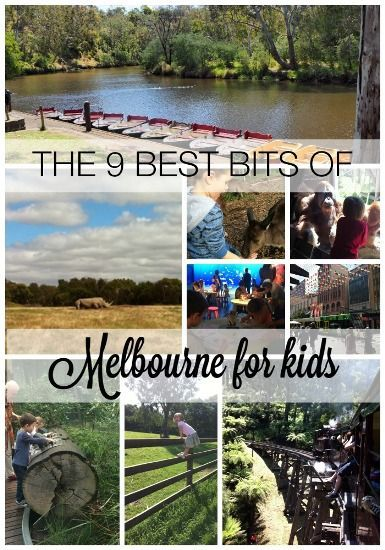 The 9 best bits of Melbourne for kids