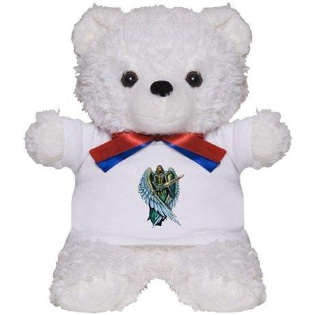 Archangel Michael Teddy Bear on CafePress.com https://www.fanprint.com/licenses/chicago-bears?ref=5750