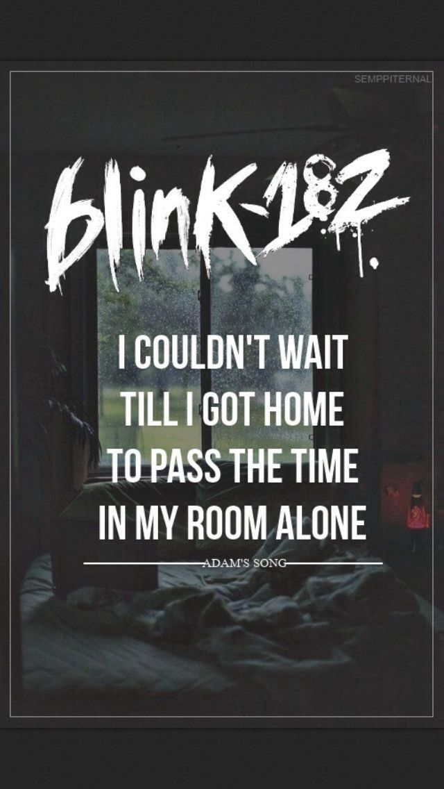 Adam's Song-Blink 182