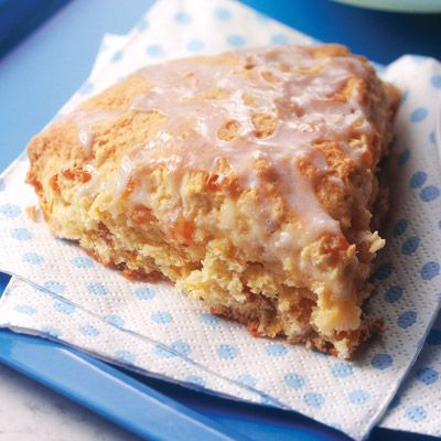Apricot Orange Scones Recipe from Land O' Lakes .... I will be substituting vegan margarine and vegan flour and others...to make this dessert safe to eat. <3