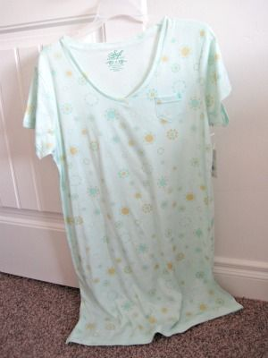 Hospital Gown from regular store bought gown