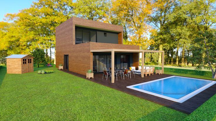 les 25 meilleures id es de la cat gorie prix maison ossature bois sur pinterest prix toiture. Black Bedroom Furniture Sets. Home Design Ideas
