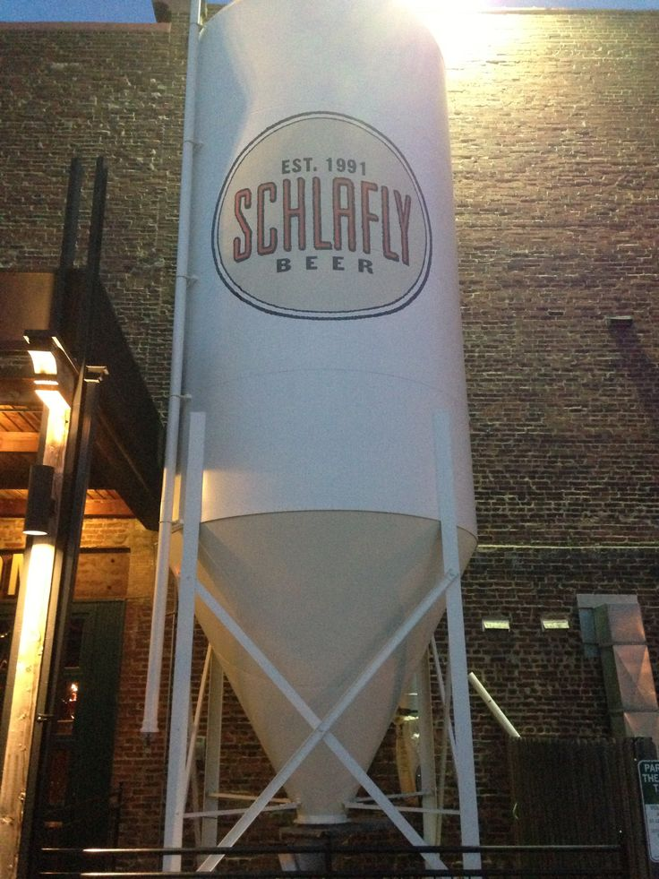 Schlafly Brewery - a St Louis treasure