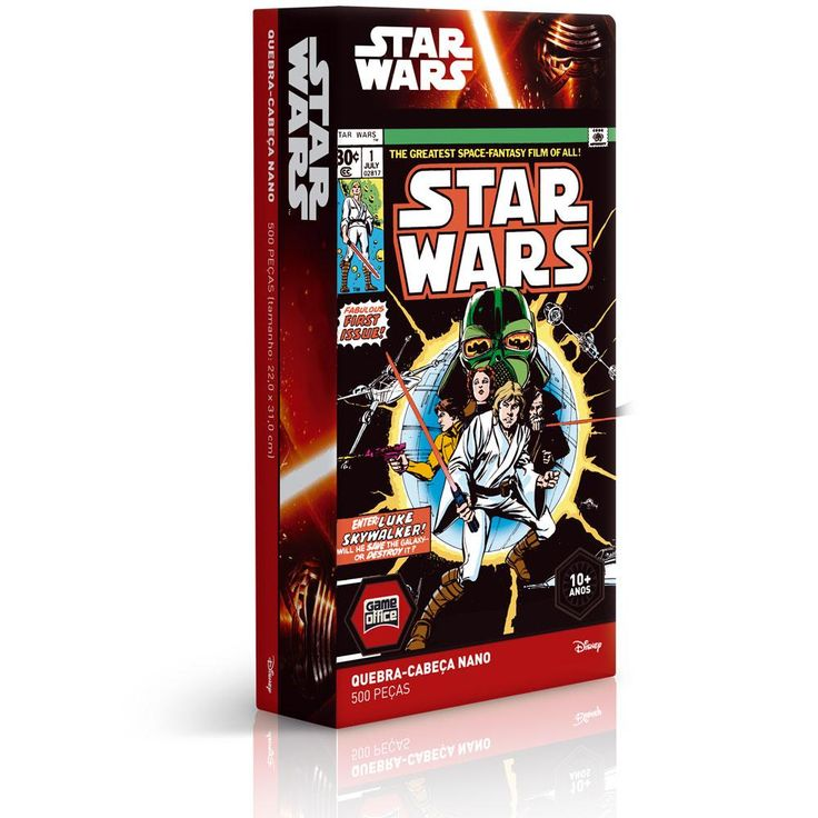 Quebra-Cabeça Nano Star Wars Luke SkyWalker 500 Peças Toyster -Brinquedos - Até 500 Peças - Walmart.com