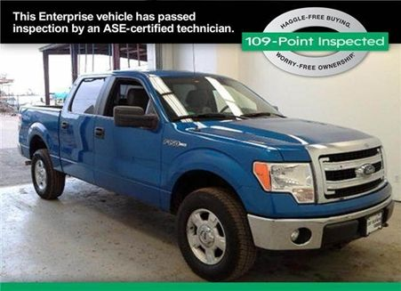 Used FORD F150 SuperCrew Cab 2013 FORD F150 SuperCrew Cab Rockville Centre, NY - Enterprise Used Cars