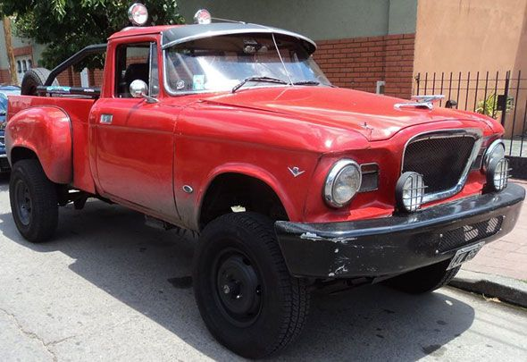 Auto Studebaker Champ Special