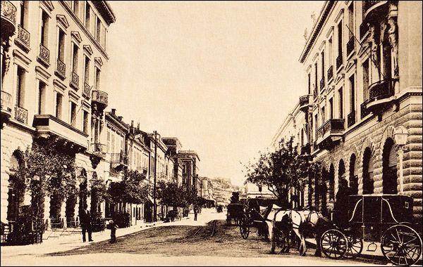 Οδός Αθηνάς, 1900. Φωτογραφία αγνώστου