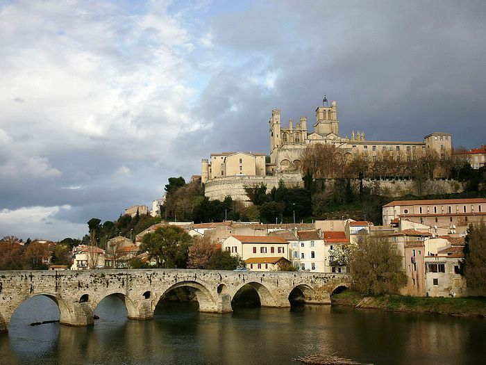 Cathedral Saint-Nazaire Beziers Herault Languedoc-Roussillon France