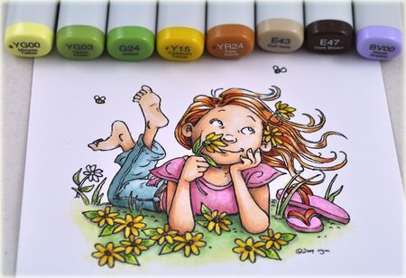 I need these Copic markers. I thought I was good at coloring. This blows my mind.
