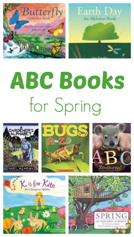 ABC Books for Spring