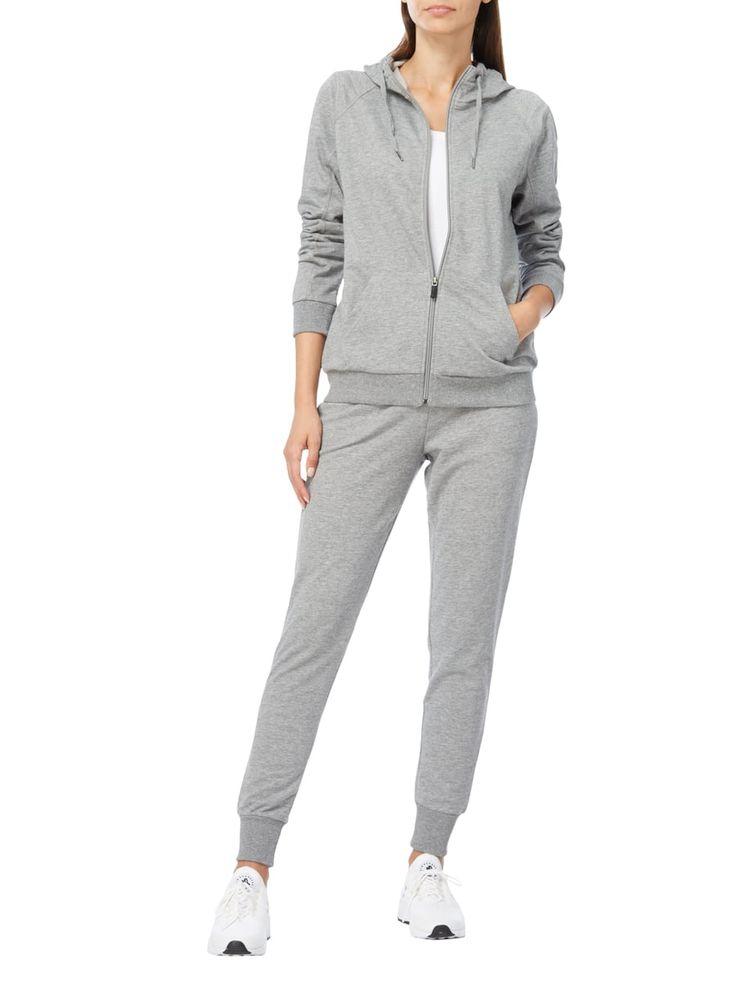 Esprit Sport Sweatpants mit elastischem Bund in Grau / Schwarz - 1