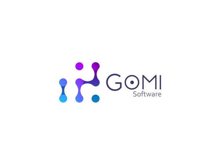 Gomi Software Logo by Arkadiusz Płatek