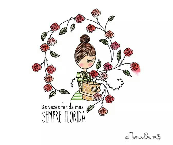Ferida Florida  Dor  Amor