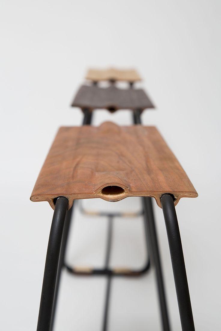 ori ravgad applies sushi rolling techniques to wood veneer