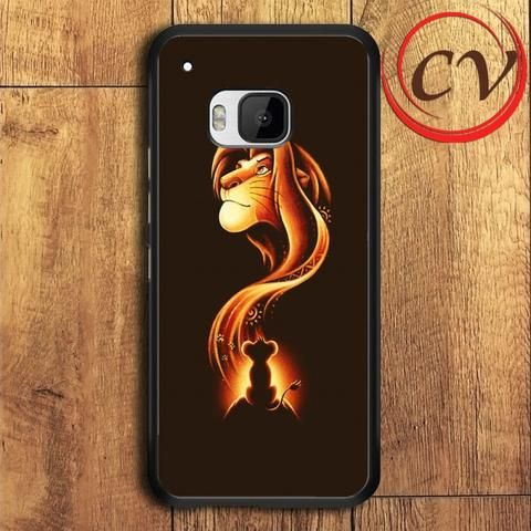 Lion King HTC One M9 Black Case