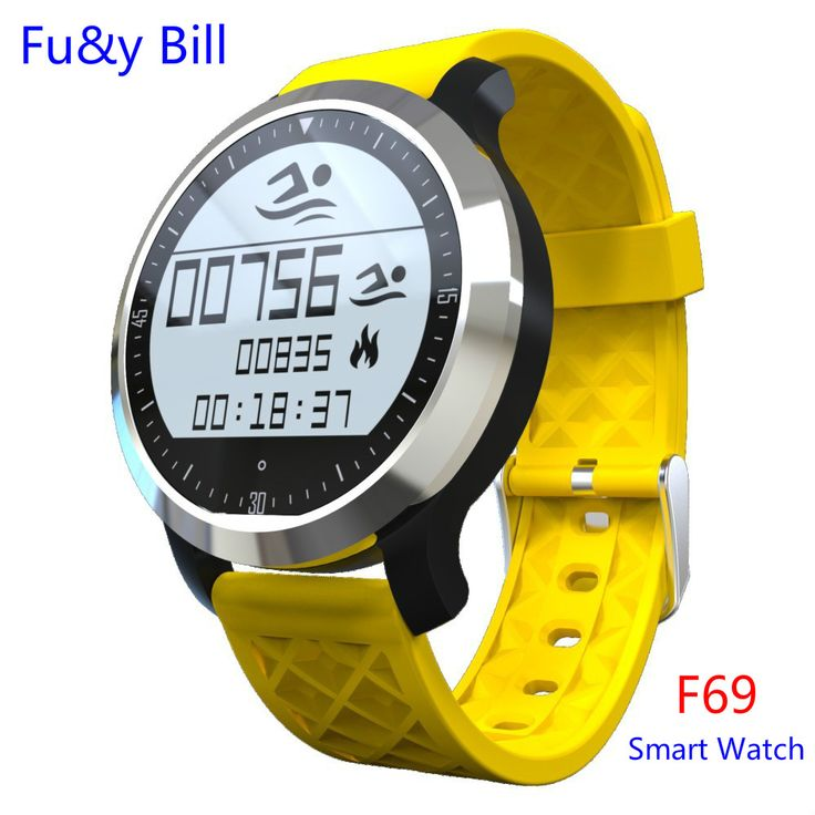 Smart Watch F69 SmartWatch IP68 Waterproof Pedometer