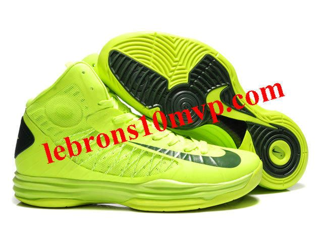 a1511edfaf28 Nike Lunar Hyperdunk X 2012 James Shoes Fluorescent Green