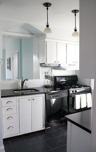 White Galley Kitchen With Black Appliances 9 best kitchen hinges images on pinterest | kitchen hinges