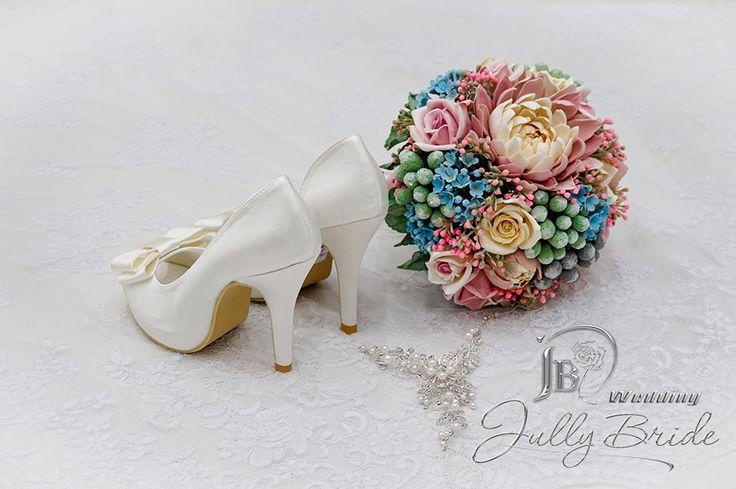 Свадебные туфли 60