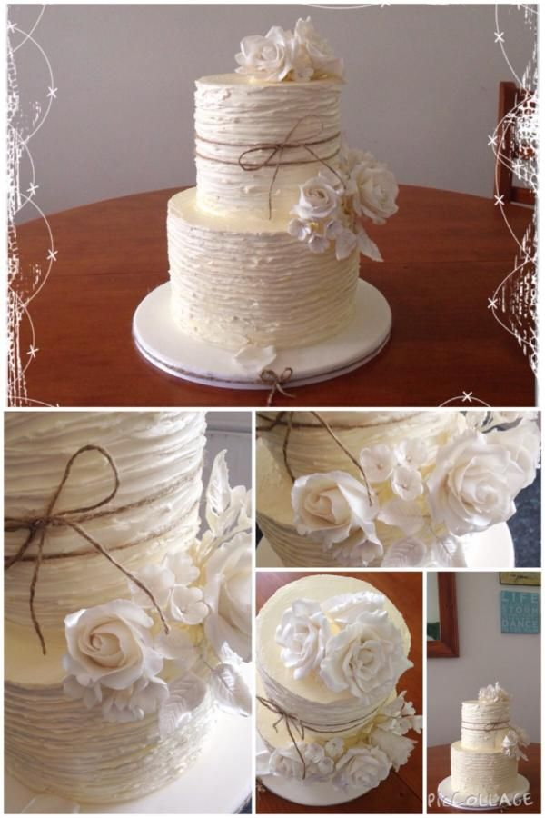 Rustic Style Wedding Cake Cake By Jules Buxton Rustic Wedding