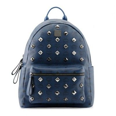 MCM Outlet Backpack Style Blue