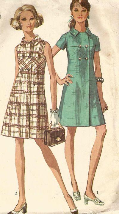 1960s dress pattern
