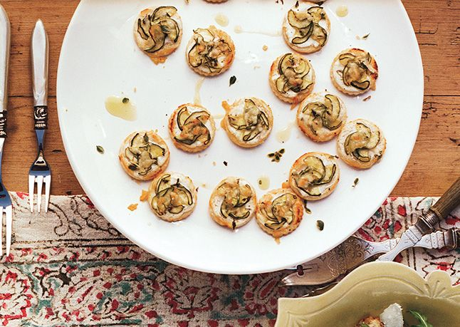 ... Inhibit Our American Freedoms): Mini Zucchini and Goat Cheese Tarts