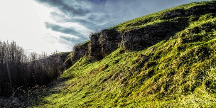 Rezerwat w Skorocicach niedaleko Buska - Zdroju. Krajobraz naszych małych gór.