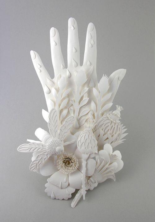 #papercraft #papercutting #papersculpture. hand...paper