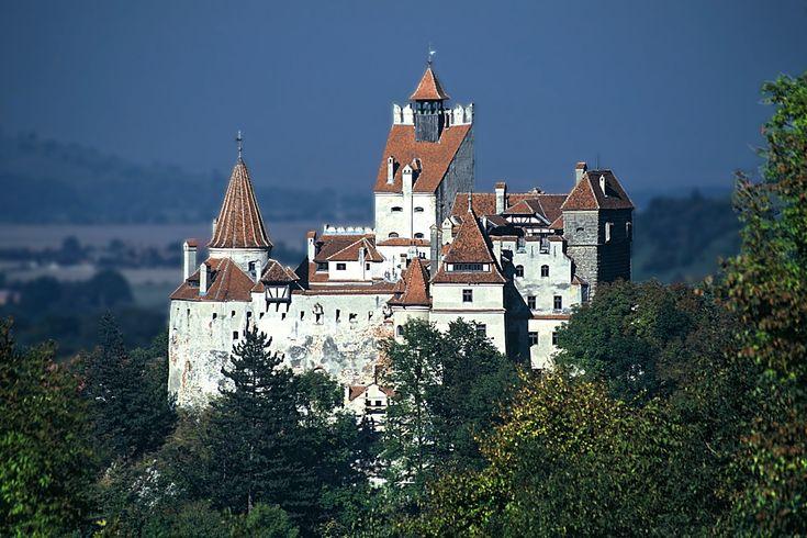 Dracula`s Castle in Transylvania, Romania