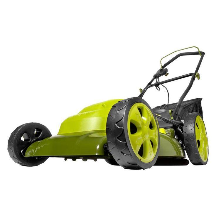 Sun Joe 12-Amp 20-in Deck Width Push Corded Electric Push Lawn Mower with Mulching Capability