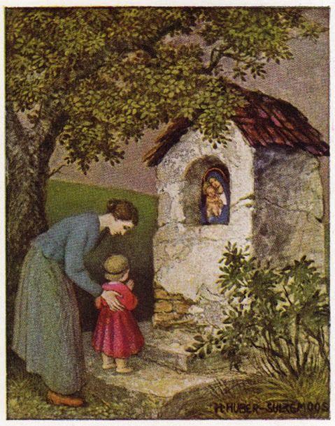 """""""Mãe Maria, minha família vossa é."""""""