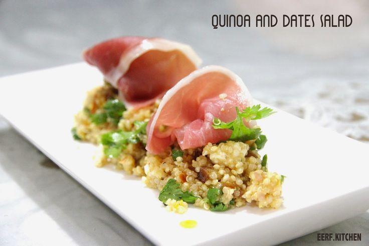 e.e.r.f kitchen: Quinoa and Dates Salad